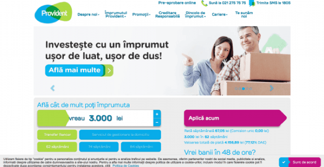 PROVIDENT FINANCIAL ROMANIA I.F.N. SA